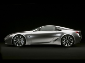 2007 Lexus LF A Sports Car Concept Side  (click to view)
