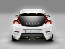 2007 Volvo ReCharge Concept Rear  (click to view)
