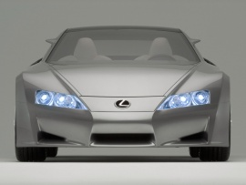 Lexus LF A Concept 03 (click to view)